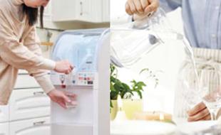 天然水の宅配サービスのイメージ